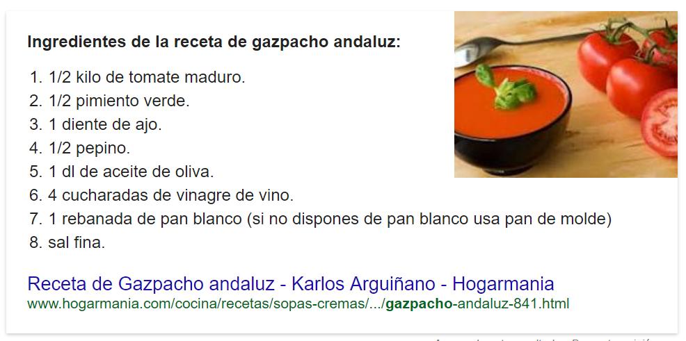 AMP gazpacho